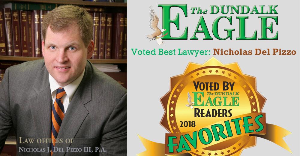 best lawyer dundalk eagle award Baltimore Maryland