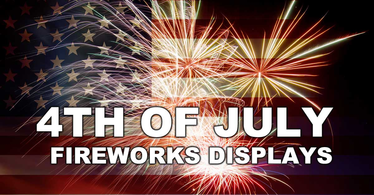 4th of July Fireworks Displays in Baltimore area