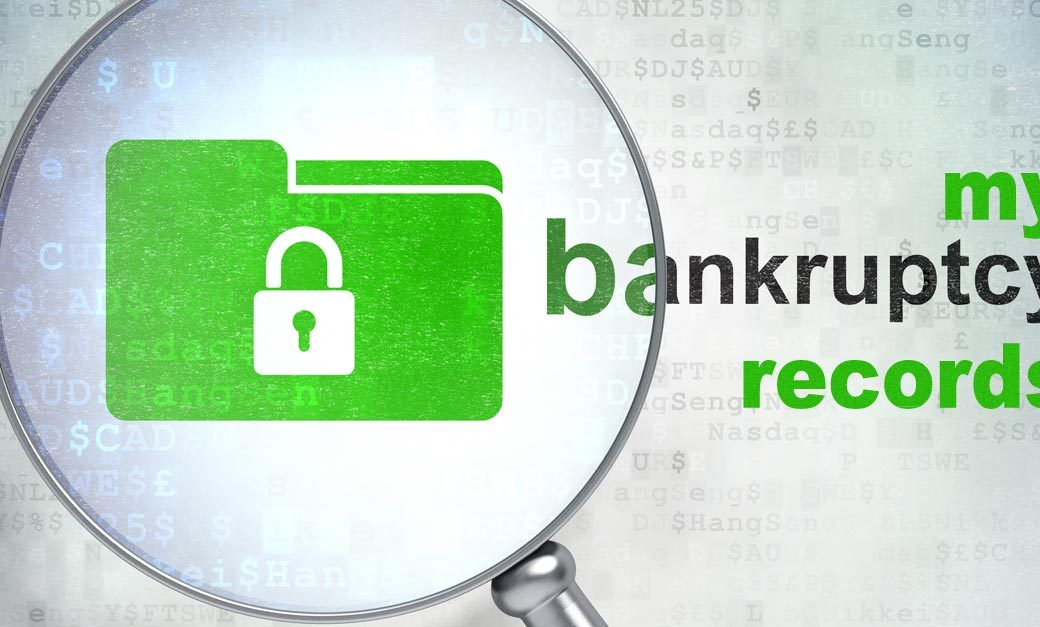 bankruptcy records privacy