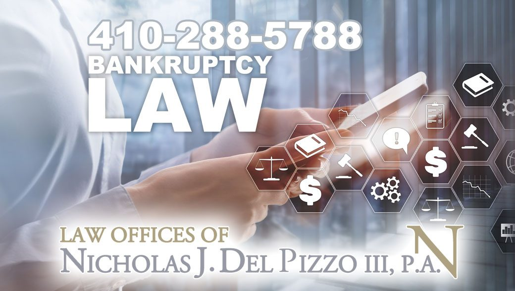 Bankruptcy Lawyer Maryland Nick Del Pizzo