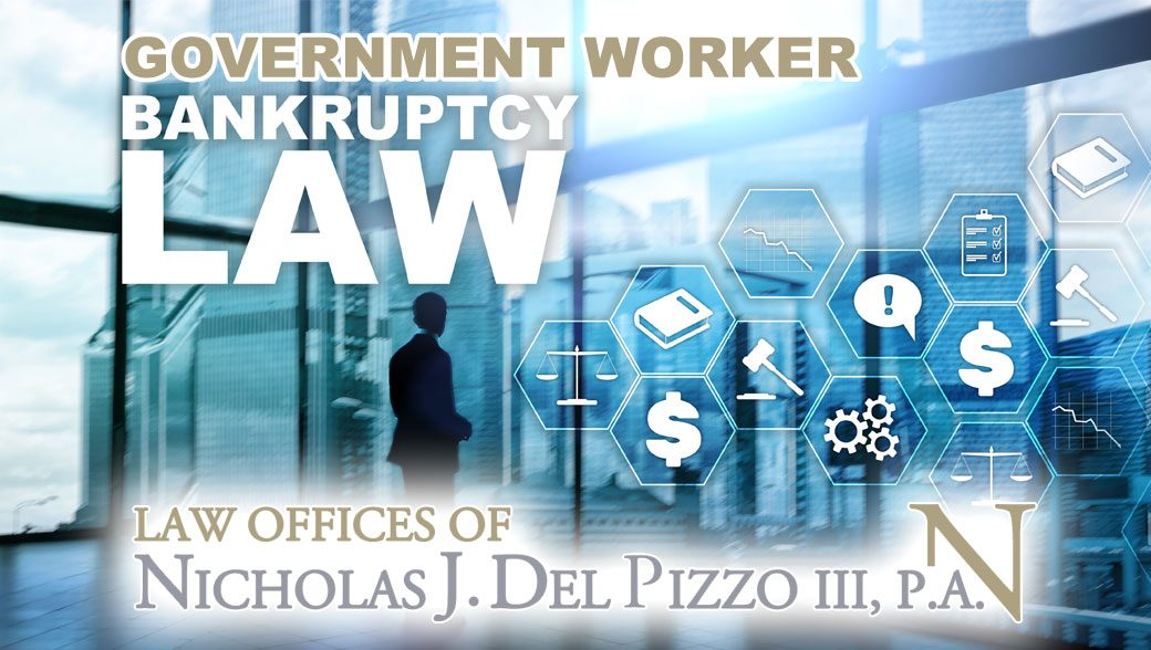 government worker bankruptcy law