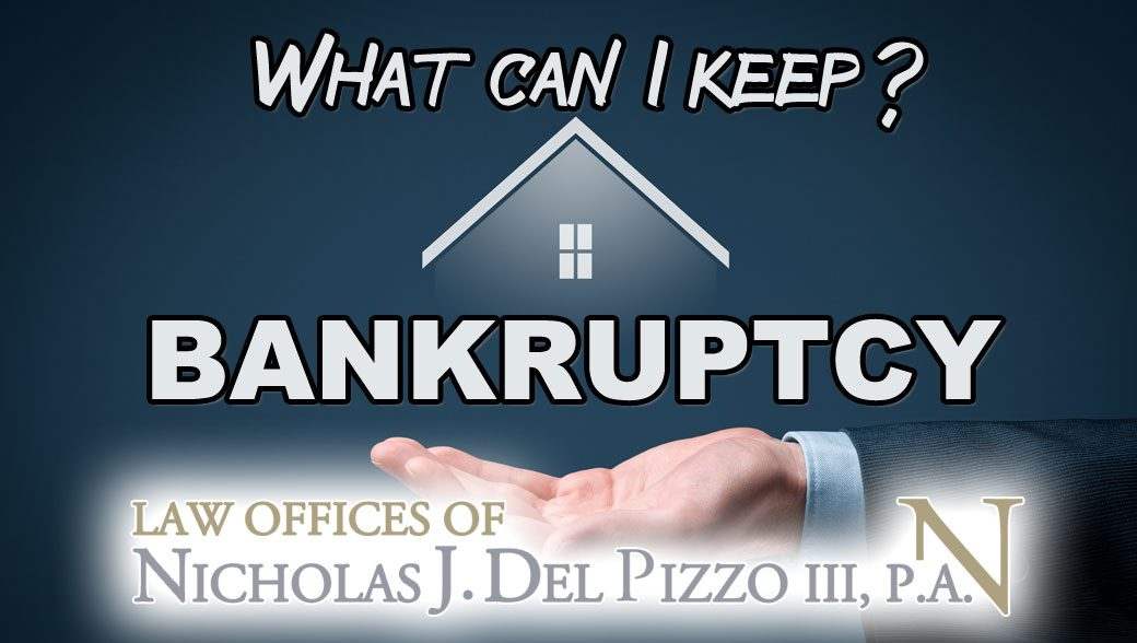 what can be kept in bankruptcy