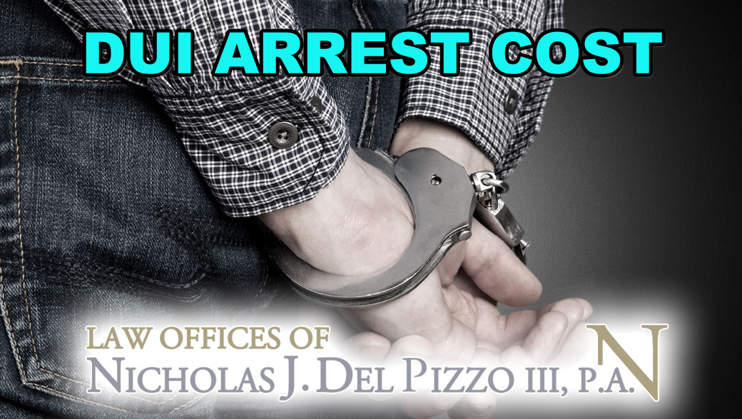 How Much Does A Second Dui Arrest Cost In Maryland Nick Del Pizzo