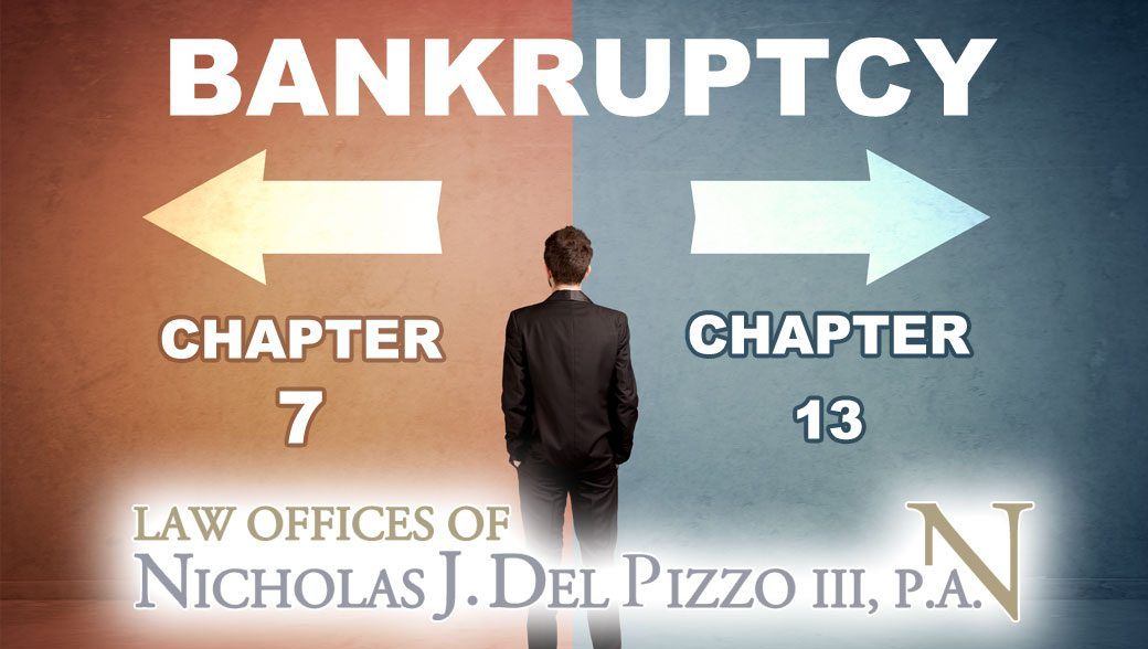 Bankruptcy chapter 7 or chapter 13 decision
