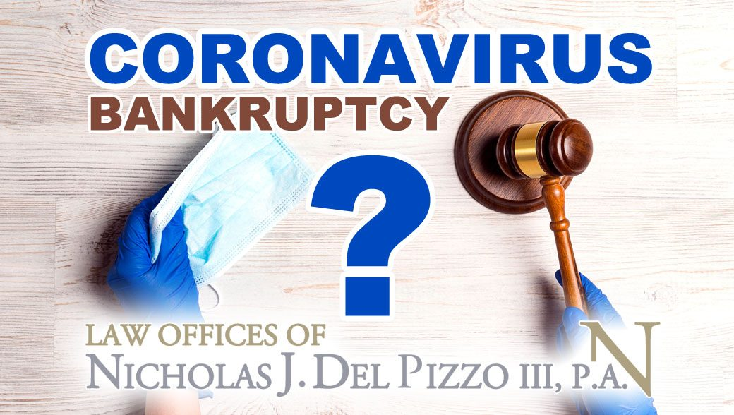 Coronavirus Bankruptcy Questions and answers