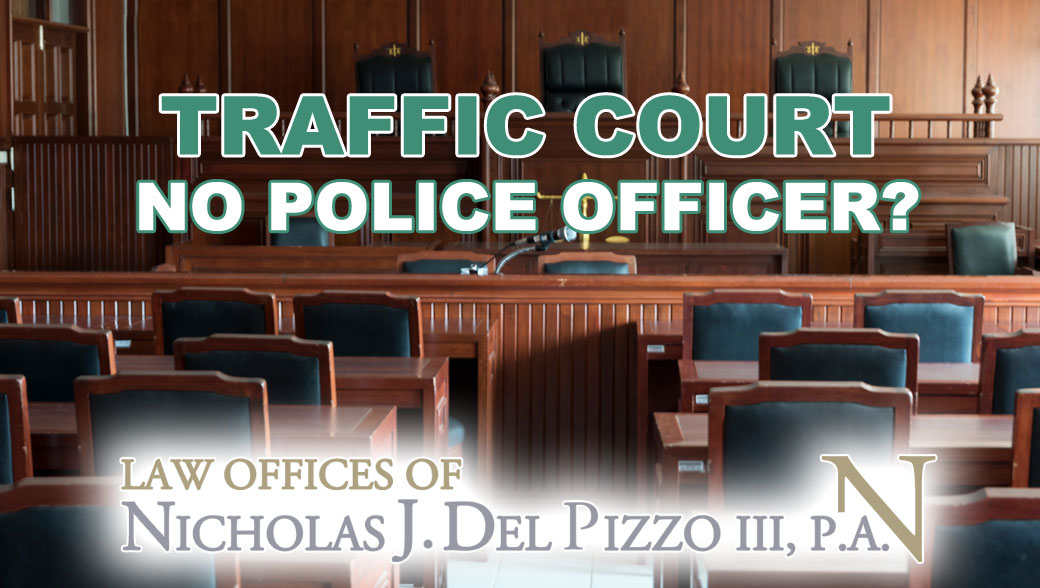 traffic court no police officer