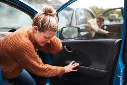 Can you get whiplash from a car accident with no damage?